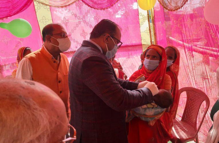 अनुराष्ट्रीय पल्स पोलियो टीकाकरण अभियान का हुआ शुभारंभ