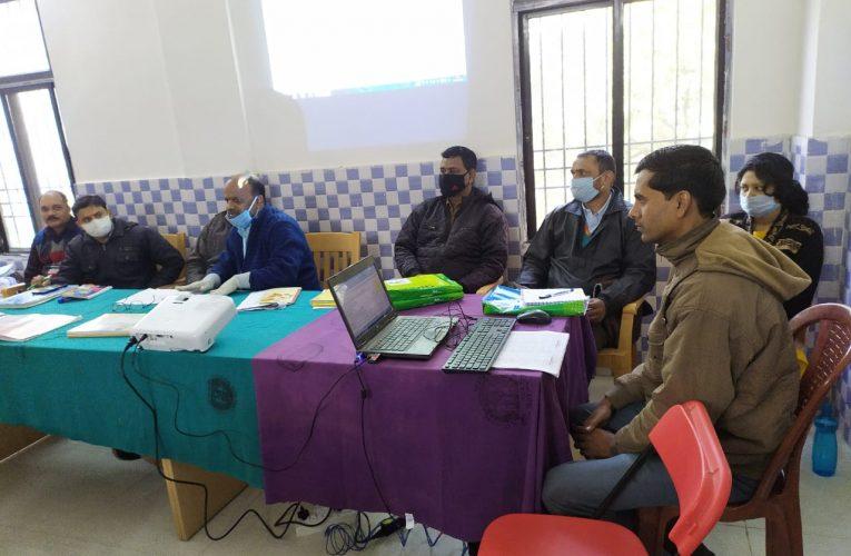 पोठिया प्रखंड में स्वास्थ्य सुविधा को बेहतर बनाने के लिए हुई समीक्षात्मक बैठक