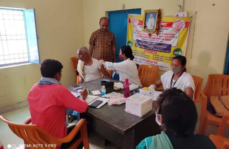 कोविड-19 टीकाकरण अभियान ने पकड़ी रफ्तार, राज्य में सारण को मिला पहला स्थान