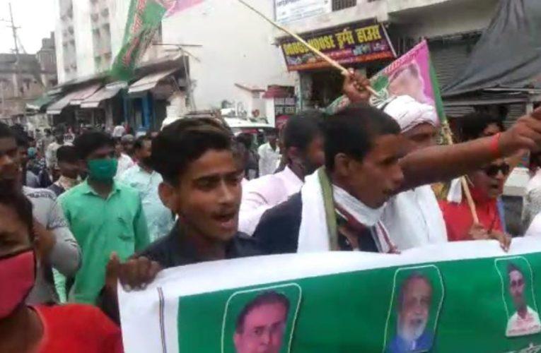 पप्पू यादव की रिहाई के लिए समस्तीपुर में शुरू हुआ आंदोलन, सड़क पर उतरे जाप कार्यकर्ता